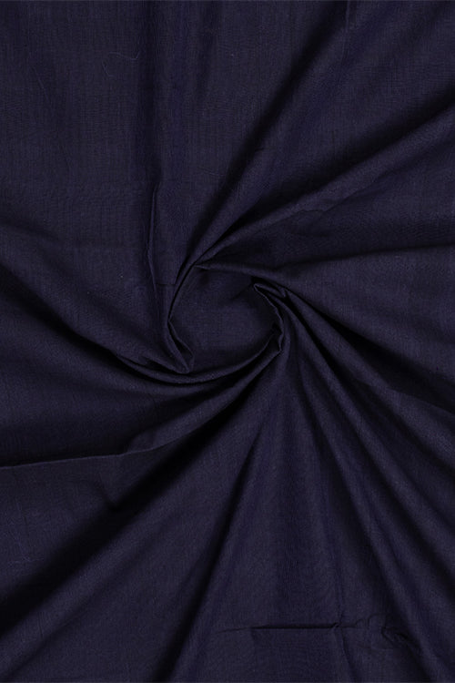 Chitrika-Wave Dobby Cotton Handloom Fabric Blue