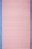 Chitrika 5/5 Checks Cotton Handloom Pink Kuppadam Saree Online
