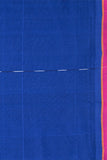 Chitrika Hank Art Plain Cotton Handloom Saree Dark Blue