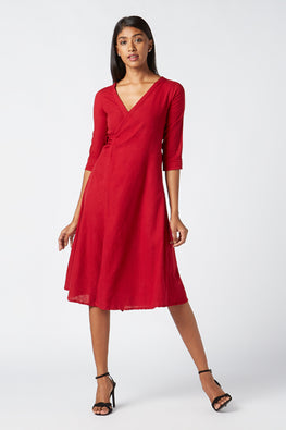 Okhai 'Heart' Cotton Wrap Dress