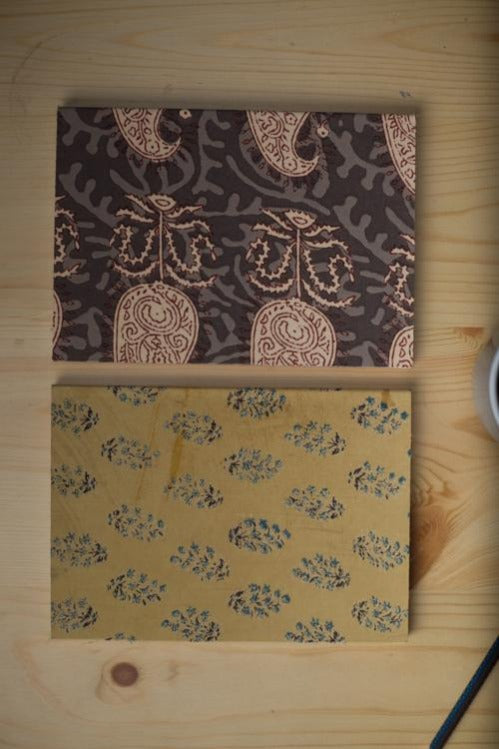 Lotus Veda Handcrafted Diary 160 pgs (set of 2)-28