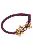 Miharu Brass Thread rincess Necklace D34a