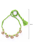 Miharu Brass Thread Choker Necklace D64a
