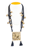 Miharu Brass Thread Princess Necklace D79a