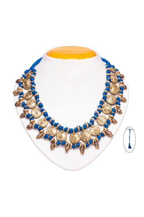 Blue Choker Necklace
