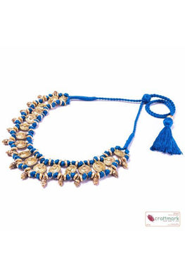 Miharu Blue Choker Necklace