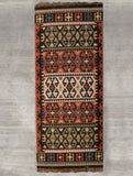 Exclusive Handwoven Kilim Long Runner Rug (6 x 2 ft) - The India Craft House