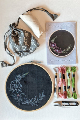 Okhai Write Your Own DIY Hoop Embroidery Kit Online