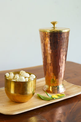 P-TAL Thathiar Hand Hammered Copper Tumbler Online