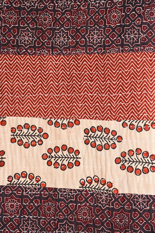 Okhai 'Amaya' Double Bed Quilt-11