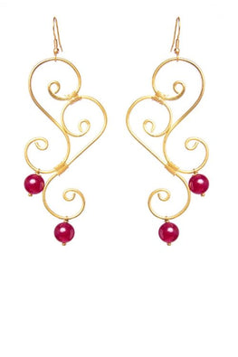 Miharu Double S Earrings