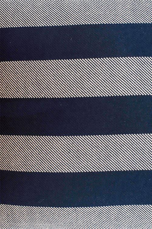 Extra weft Stripe Cushion Cover