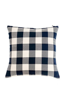 Okhai Extra Weft Check Cushion Cover Online