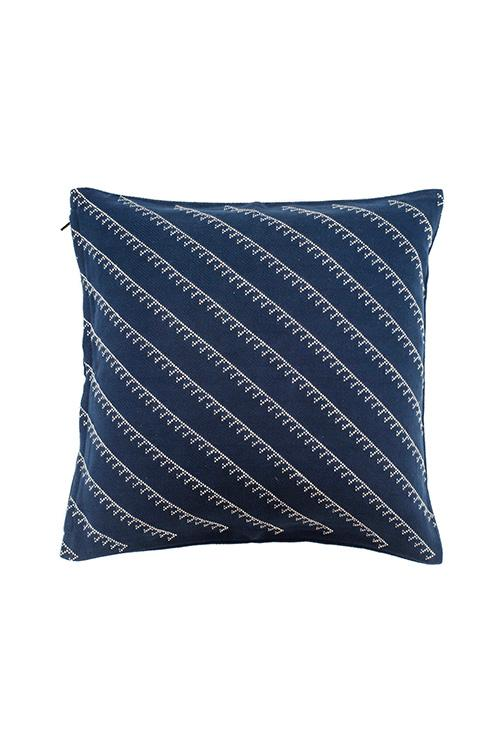 Okhai Extra Weft With Diagonal Butti 16x16 Cushion Cover Online