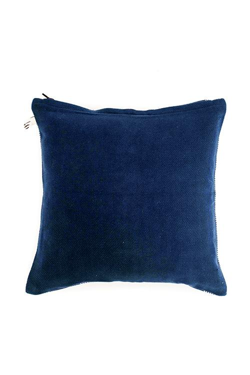 Extra weft with Diagonal Butti Placement Cushion Cover-3