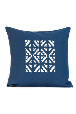 Applique Centre Square Motif Cushion Cover