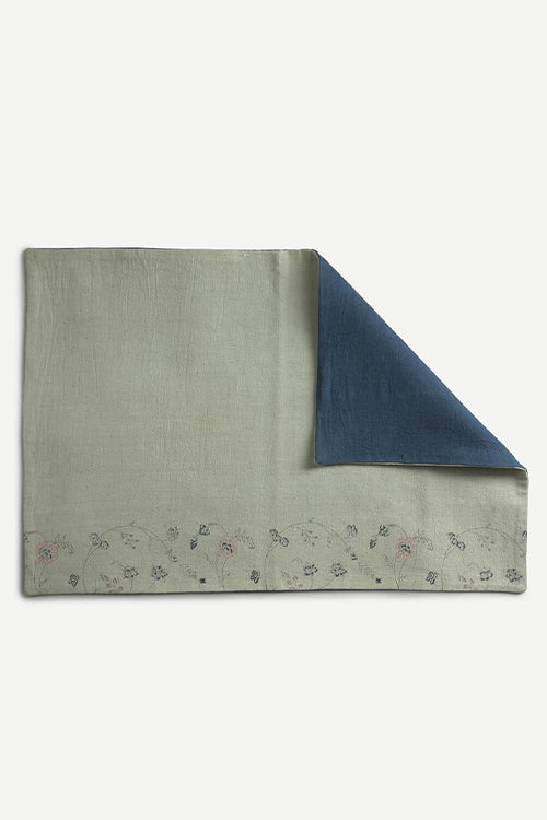 Ikai Asai Table Mat single pc grey and blue