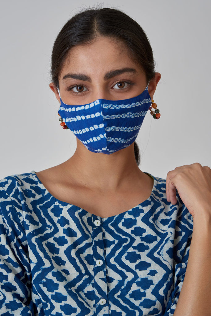 Assorted Tie and Dye Mask (Set Of 5)
