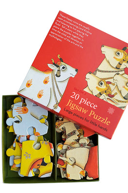 "Froggmag ""Pichwai Cows"" 20 Pieces Jigsaw Puzzle"