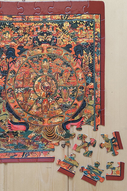 "Froggmag ""Thanka"" 63 Pieces Jigsaw Puzzle"