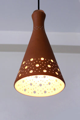 Craftlipi FUN XL Handcrafted Terracotta Ceiling Hanging Lamp Online