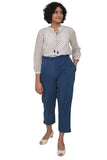 Okhai Indigo Cotton Pant For Women Online