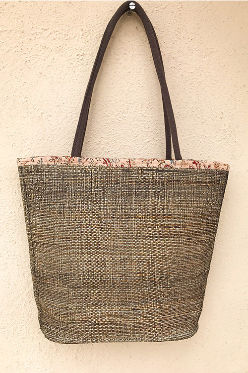 Gramya Handcrafted Banana Fibre V New Bag