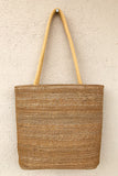 Gramya Handcrafted Banana Fibre U bag
