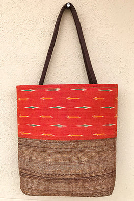 Gramya Handcrafted Banana Fibre Long U Bag