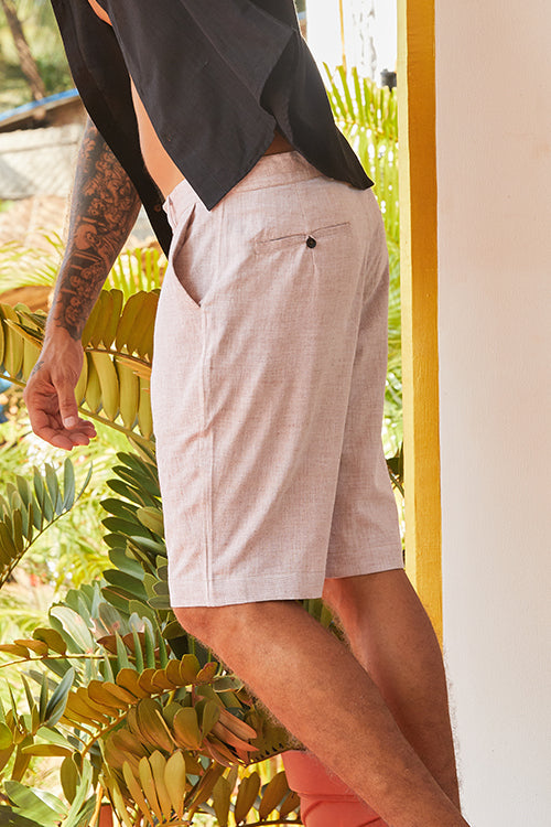 "Okhai 'Wisdom' Pure Cotton Shorts (Inseam 10"")"