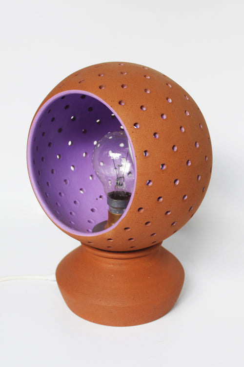 Craftlipi GLO XL Handcrafted Terracotta Traditional Table Lamp Online