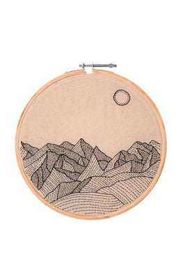 Okhai 'Wanderlust' Hand Embroidered Hoops-14