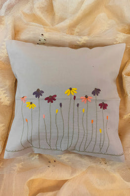 Whebyabira-Handembroidered floral cushion cover-2