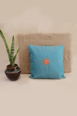 Whebyabira-Handembroidered Kota festive cushion cover-2