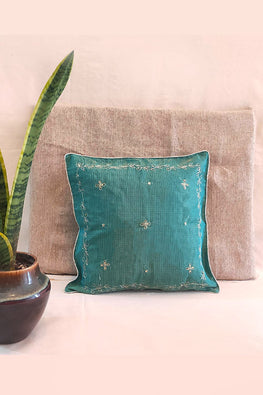 Whebyabira-Handembroidered Kota festive cushion cover-3