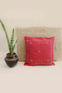 Whebyabira-Handembroidered Kota festive cushion cover-7