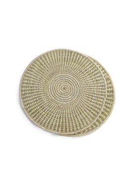 Set of 2 Handmade Sabai Grass Table Mat