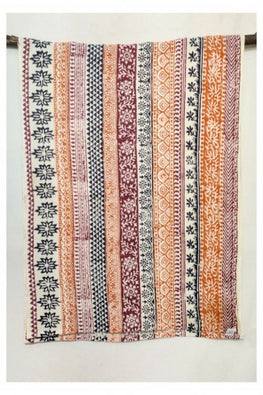 Hastkaar 'Kavika' Traditional Sanganeri Handloom Cotton Stole-32