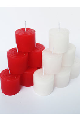 Craftlipi Pillar Aromatic Christmas Candles (Set of 12)