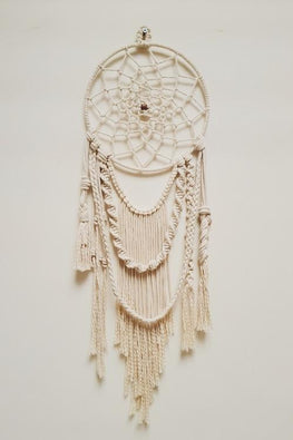 Macramé Elegant Navajo Dream-Catcher - Off white