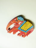 Handcrafted Wooden Jigsaw Puzzle - Elephant - The India Craft House