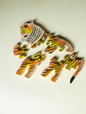 Handcrafted Wooden Jigsaw Puzzle - Tiger - The India Craft House