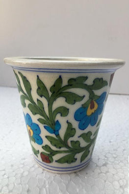 Blue Pottery Handcrafted Planter-115