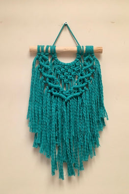 Macramé Boho Wall-Hanging - Small