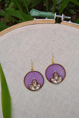 Whebyabira-Purple Round Enamel Drop