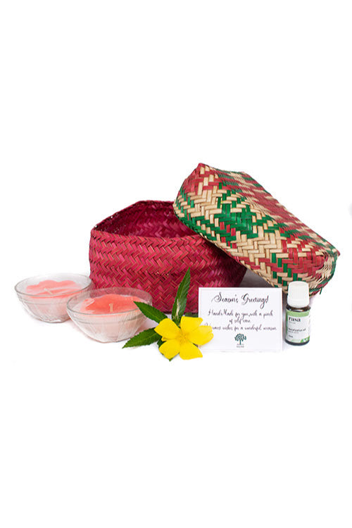 Kadam Haat Good Night Sleep Set (Red)