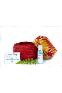 Kadam Haat Self Care Kit (Red and Yellow)