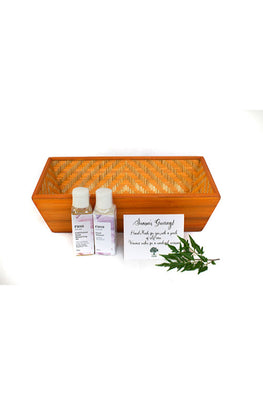 Kadam Haat Dresser Set (Orange)