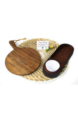 Kadam Haat Celebrate with Friends Set (Natural and Brown)