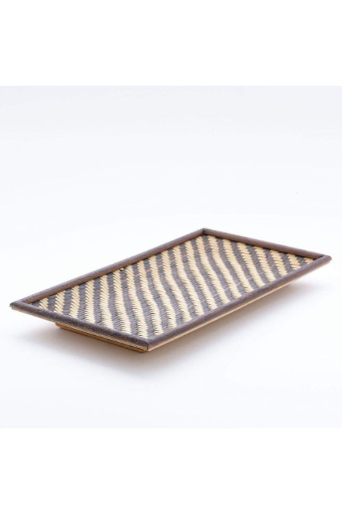 Handmade Bamboo Cereal Tray - Small (Brown) With Cashews-1